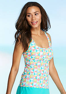 Kim Rogers Tropical Multi Sports Tankini