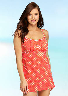 Kim Rogers Harbor Dot Swim Dress