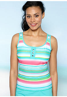 Kim Rogers Three Button Tankini