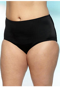 Kim Rogers Plus Size High Waist Swim Bottom