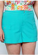 Kim Rogers® Plus Size Board Short