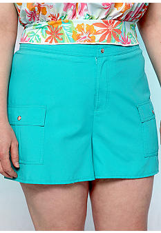 Kim Rogers Plus Size Board Short