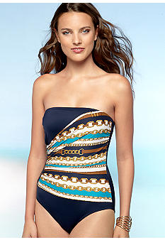 MICHAEL Michael Kors Status One Piece Swim Suit