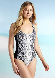 MICHAEL Michael Kors Diamondback Racerback One Piece