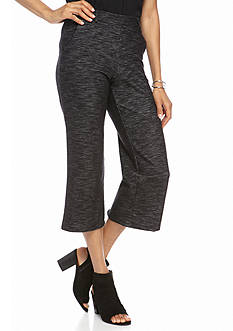 New Directions Spacedye Pull-on Crop Pants
