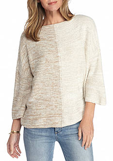 New Directions Colorblock Dolman Sweater