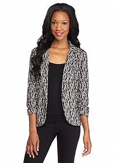 New Directions Geo Jacquard Jacket
