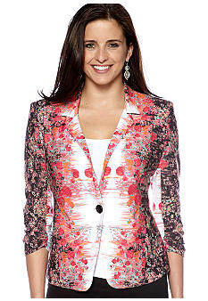 New Directions Floral Mirror Jacket