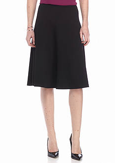 New Directions Knit Midi Skirt