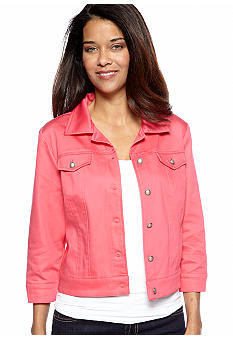 New Directions® Petite Three Quarter Sleeve Jacket