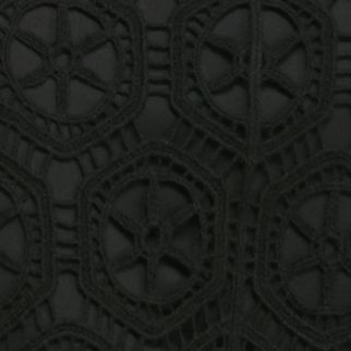 New Directions Petites Sale: Black New Directions Petite Lace Skirt
