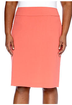 New Directions Plus Size Pencil Skirt
