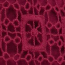 New Directionsâ Women's Plus Sale: Day Fuchsia New Directions Plus Size Crochet Fringe Top