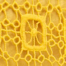 New Directionsâ Women's Plus Sale: Gold Rush New Directions Plus Size Crochet Fringe Top