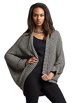 Romeo & Juliet Couture Stripe Cocoon Cardigan