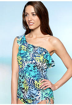 New Directions One Shoulder Tankini