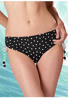New Directions New Directions Atlantic Dot Adjustable Side Tie Bottom