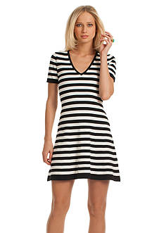TRINA Trina Turk Taran Knit Stripe Dress