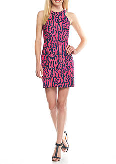 TRINA Trina Turk Upscale Halter Dress