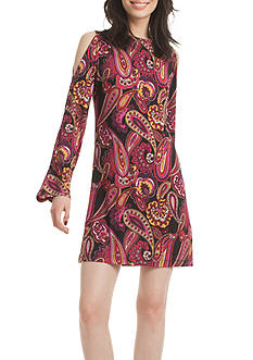 TRINA Trina Turk Deon Paisley Dress