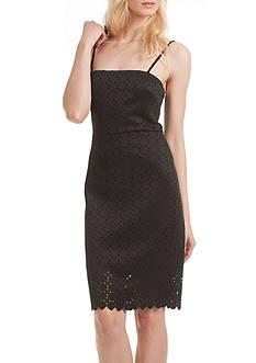 TRINA Trina Turk Pernilla Perforated Dress
