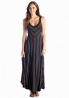 Matty M Striped Maxi