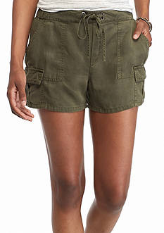 Willow and Clay Drawstring Cargo Shorts