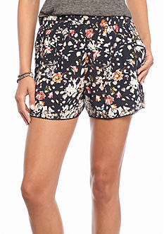 Willow and Clay Floral Printed Shorts