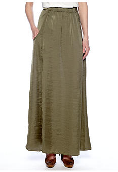 Willow and Clay Pocket Front Maxi Skirt