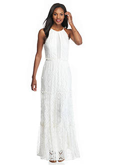 Willow and Clay Lace Maxi Dress