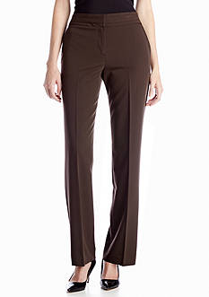 New Directions® Buckle Trim Pant
