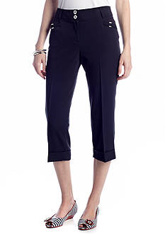 New Directions® Slim leg Crop Pant