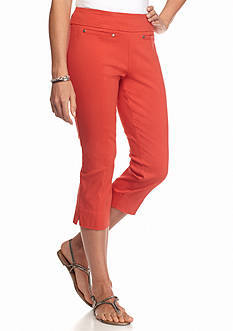 New Directions Pull-On Millennium Crop Pants
