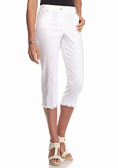New Directions Slim Leg Crop Pants