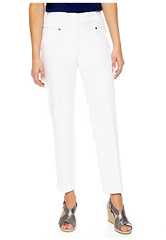 New Directions Sateen Ankle Pant
