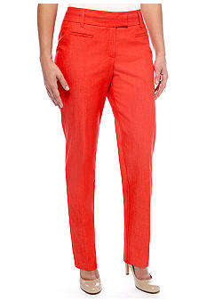 New Directions Petite Denim Slim Leg Pant