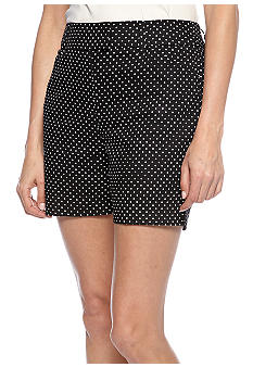 New Directions Polka Dot Short