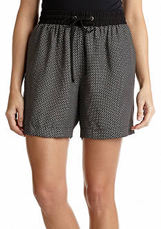 New Directions® Star-Printed Track Short