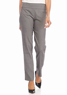 New Directions Millennium Jacquard Pull On Pants