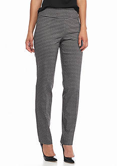 New Directions Chevron Print Millennium Pants