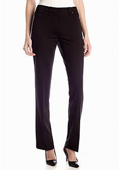 New Directions® Slim Leg Ponte Pant