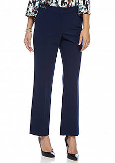 ND New Directions Petite Size Viscose Slim Leg Pants