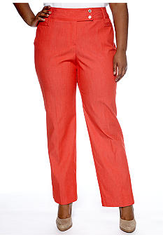 New Directions Plus Size Denim Pant