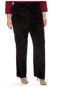 New Directions® Plus Size Color Corduroy Pant