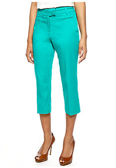 New Directions Split Waist Crop Pant