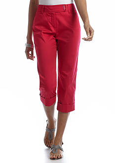 New Directions® Sateen Cuffed Crop