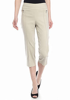 New Directions Millennium Pull On Crop Pants