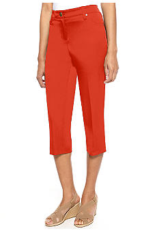 New Directions Five Pocket Crop Pant