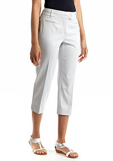 New Directions® Split Waist Prive Crop Pant