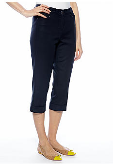 New Directions Cuffed Crop Pant